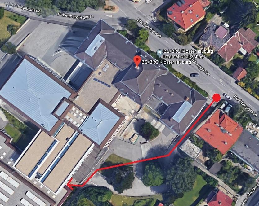 Zugang ASVK via Schulhof