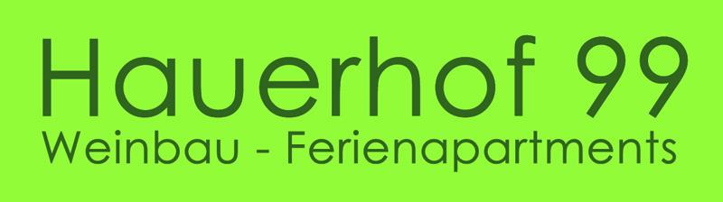 Hauerhof 99 Weinbau & Ferienapartments