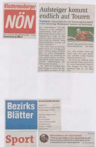 20141114 NÖN + 20141119 Bezirksblätter