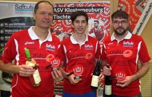 Johann Sauermann, Klubmeister Enio Operschall & Bernhard Haas