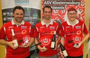 Richard Tekula, Klubmeister Philipp Heck & Georg Hengl-Weinmayer